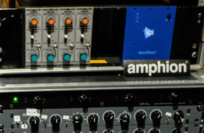 Amphion amp700 stereo power amp