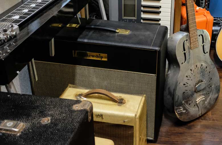 Amplifiers used at Rusty Recordings
