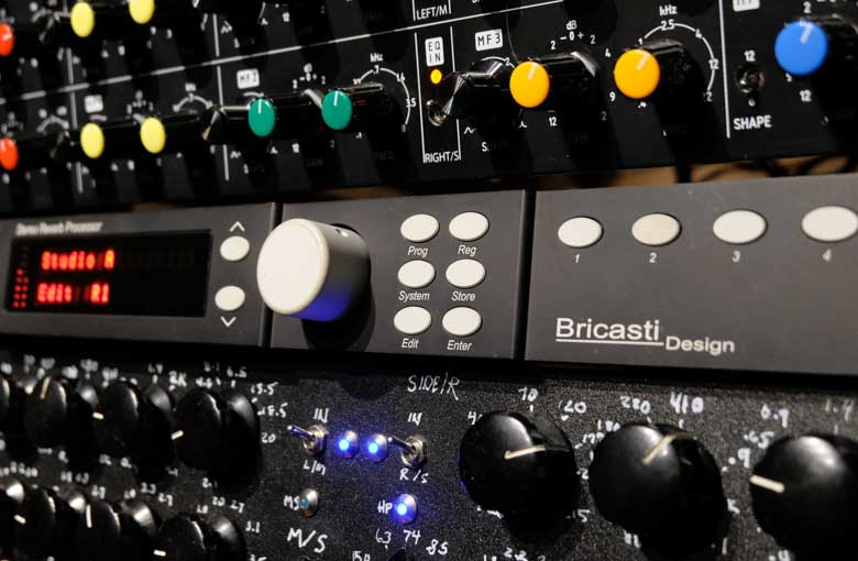 Bricasti M7 reverb in the rack.