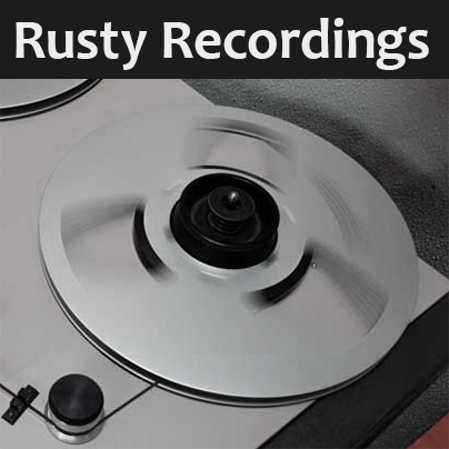 Rusty Recordings logo